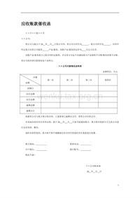 应收账款催收函 (2)