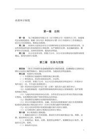 内部审计制度 (4)