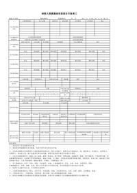 纳税人税源基础信息综合月报50万元以下
