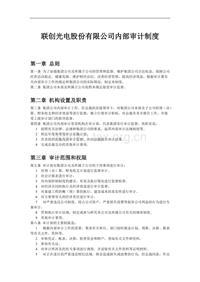 内部审计制度 (5)
